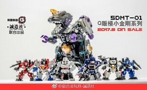 Master-Made-SDMT-01-Q-Megatron-Soundwave-Starscream-Set-of-6-In-stock