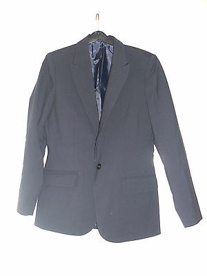Clothing, Shoes & Accessories Women's Clothing Nice Ladies/women's Simon Jersey Size 10 Navy Suit Jacket