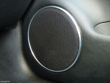 VW New Beetle 9C Passat 3B 3BG Aluringe Alu Lautsprecher R-LINE SPORT