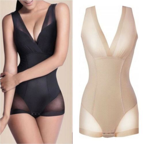Women/'s Full Body Shaper BodySuit Corset Slimming Shapewear Tummy Waist Cincher