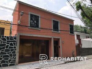 Amplia Casa con Jardin Barrio San Lucas Coyoacan