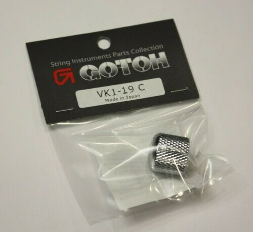 Many Others Authentic Gotoh VK1-19 Chrome Control Knob Metal Fit Ibanez Guitar