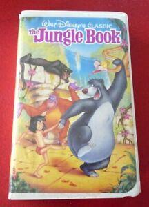 VHS-Movie-The-Jungle-Book-Walt-Disney-Pictures-Black-Diamond-Classics