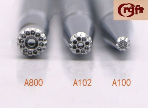 A100//A102//A800 Series Stamp Leathercraft DIY Craft Japan Craft Sha