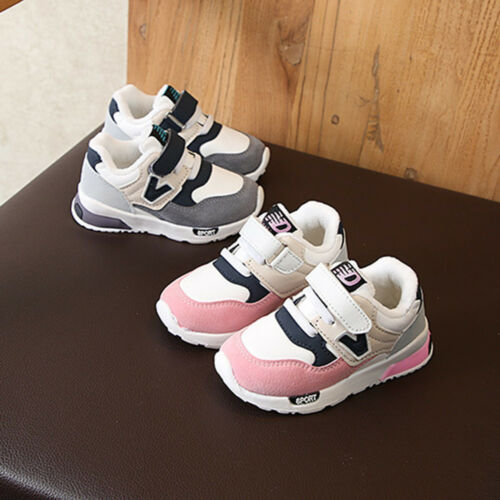 Toddler Baby Boys Girls Winter Children Casual Sneakers Mesh Soft Running Shoes