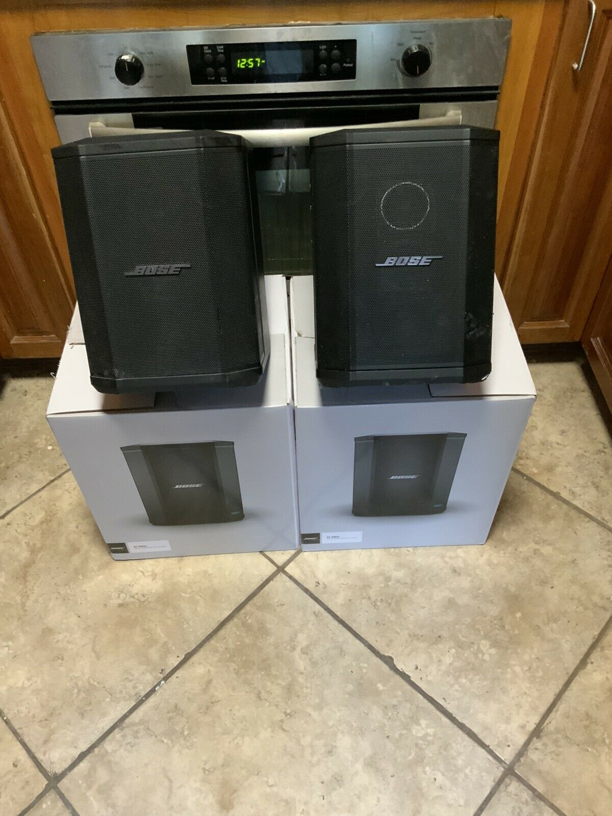 2 Bose SR1 Pro's. Buy it now for 950.00