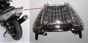 FEU ARRIERE AVEC CLIGNOTANTS LEDS POUR SCOOTER YAMAHA T-MAX DE 2008 A 2011