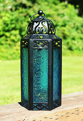 Table/Hanging Hexagon Moroccan Candle Lantern Holders