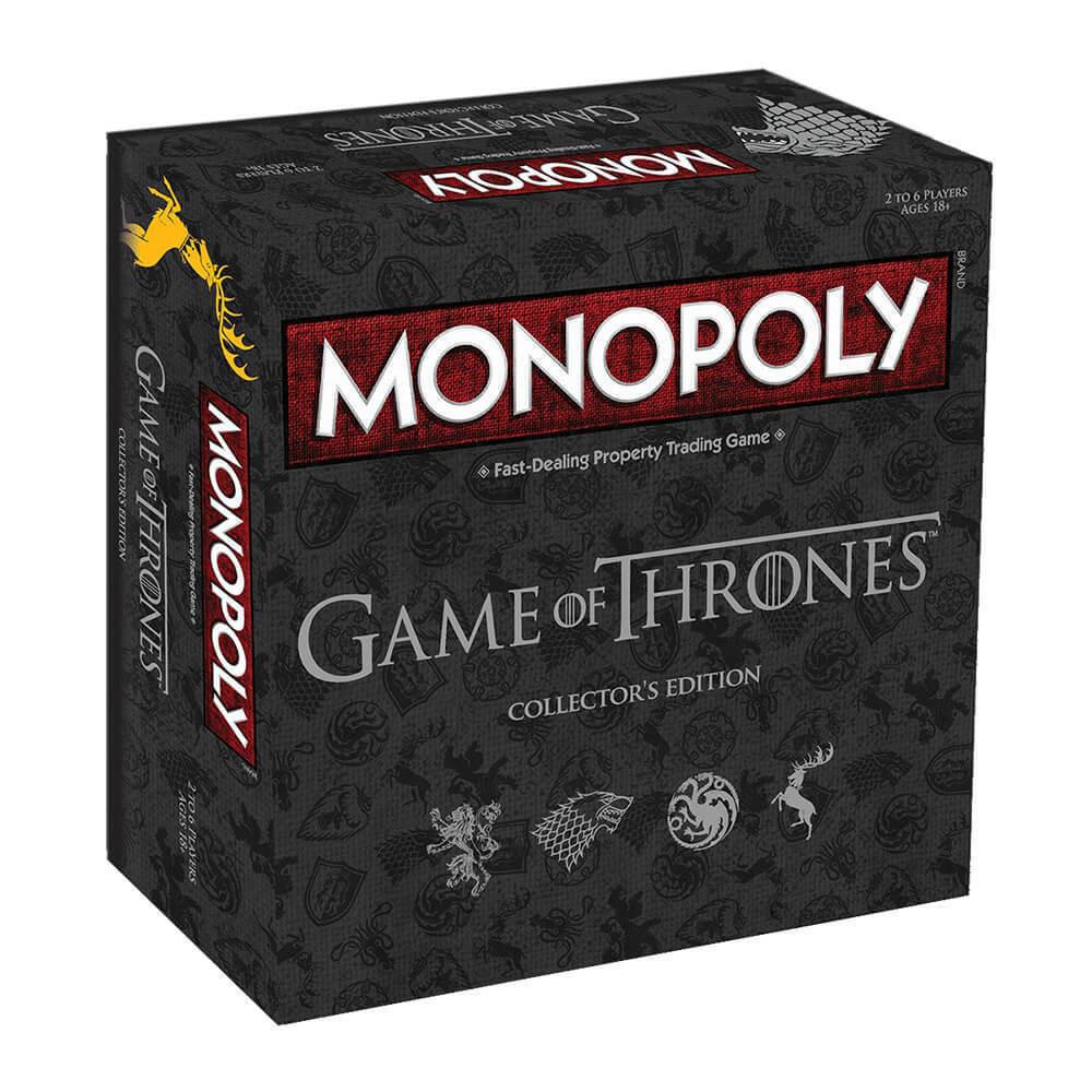 presa di marca Monopoly Gioco da Thrones Thrones Thrones Edizione Collezionisti - Gioco da Tavolo - Edad 18+  qualità autentica