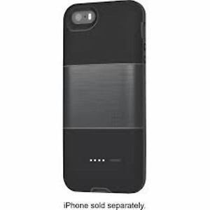 official photos cbed6 02b86 Details about Logitech Protection+Power External Battery Case for iPhone  5/5S - Black