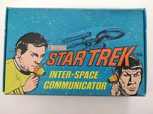 Star-Trek-1974-Unused-Inter-space-Communicator-In-Original-Box-Lone-Star