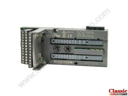 GE Refurb General ElectricIC200CHS022DVersamax Compact I//O Carrier
