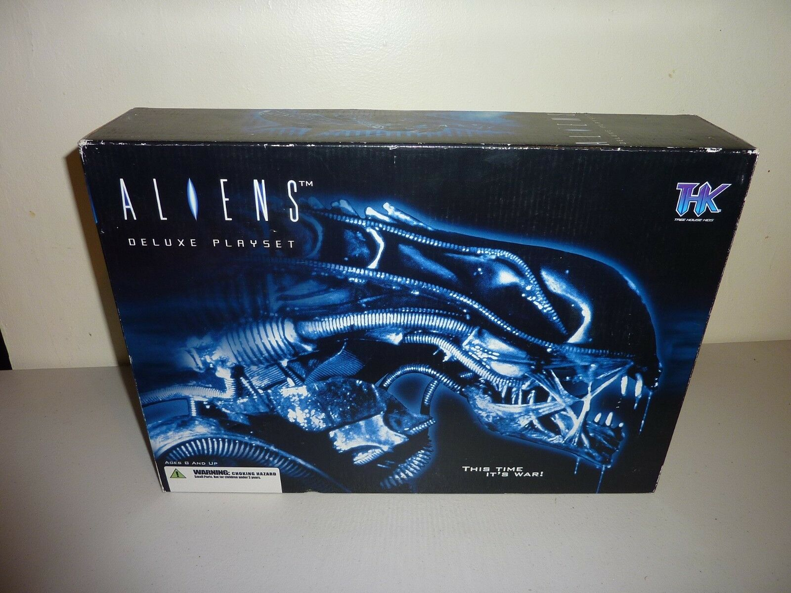 Aliens deluxe playset palisades new sealed 2004 thk