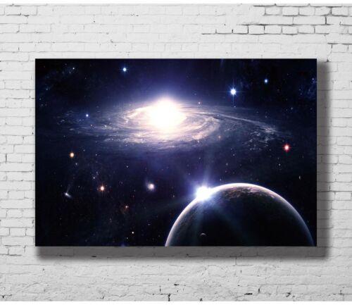 C1493 Galaxy Outer Space Nasa Universe Art Silk Poster 20x30 24x36inch