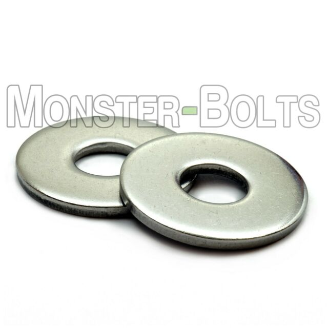 M8 X 25 Penny Repair Mud Guard Washers A2 Stainless Steel PK 50