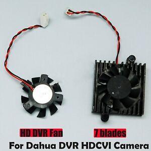Details about New Wi/Without Heatsink Fan for Dahua DVR HDCVI Camera 5V  Motherboard Fan 2 Wire