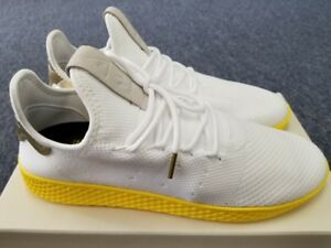 958cec44958c5 Men s adidas Originals Pharrell Williams Tennis HU PK White Yellow ...