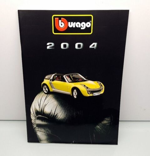 Catalogue BBurago Burago 2004-82 pages en très bon état Voiture Miniature