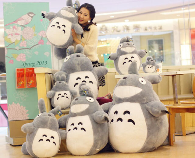 "Hot Sale 30CM/11"" inch JAPAN GRIN TOTORO PLUSH DOLL TOY NEW - My Neighbor Totoro"