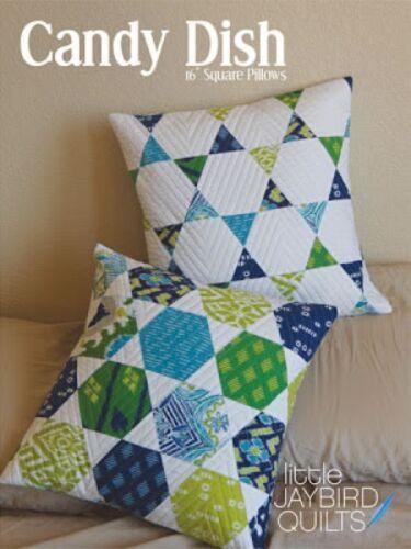 Jaybird Candy Dish Pillows Quilt Pattern JQP125