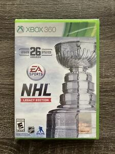 NHL Legacy Edition Xbox 360 New Sealed EA Sports National Hockey League Game
