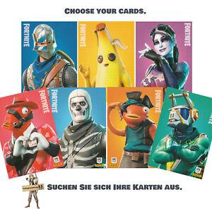 2019 Panini Fortnite Series 1 Basis / Base Cards 1-250 (zum aussuchen / choose)