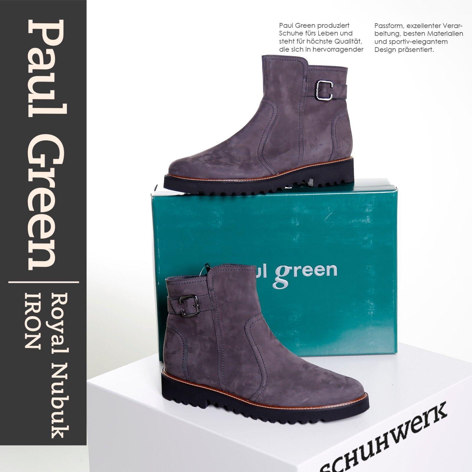Paul Green Green Paul Damen Stiefelette 9069-011 Iron f4087f