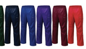 Nike-Men-039-s-Storm-Fit-Resistance-Mesh-Lined-Warm-Up-Pants-378248-Red-or-Navy