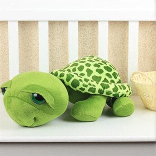 UK/_ LC/_ Cute Big Eyes Turtle Plush Toy Doll Stuffed Plush Pillow Home Decor Chil