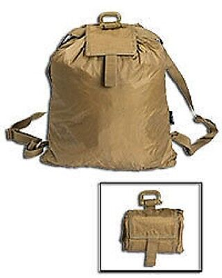 Diskret Roll Up Rucksack Army Pouch Pack Tasche Coyote Mild And Mellow