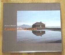 RICHARD MISRACH - CANTOS DEL DESIERTO - 1999 1ST EDITION HARDCOVER W JACKET NICE