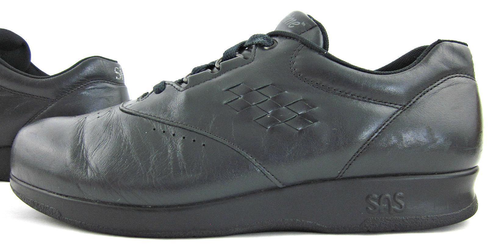 SAS 'Free Time' Damenschuhe Lace Up Walking Schuhes Navy Blau Sz 8.5N Narrow