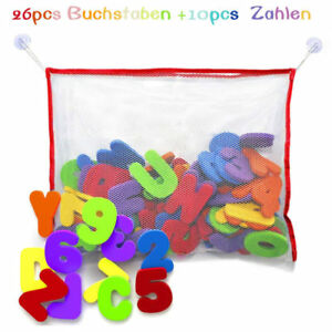Baby Bath Toy Foam Letters And Numbers NO Toy Storage Net Organizer Kids Baby Gift