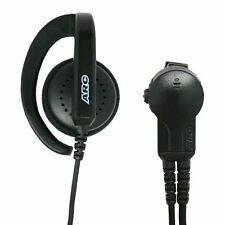 ARC G32035 Earhook Headset Earpiece Lapel Mic for Motorola HT1250 HT750 HT1550