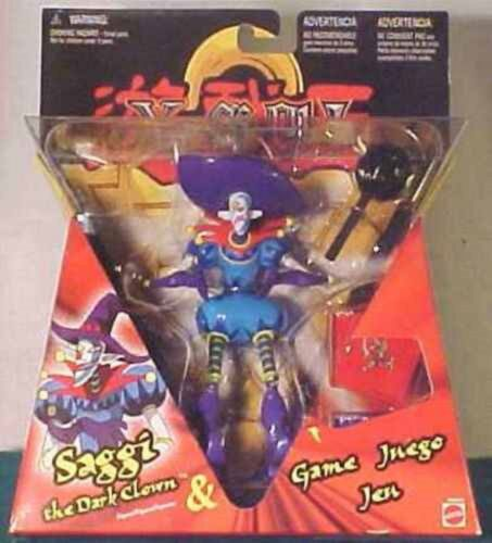 "saggi the dark clown 6/"" action figure YU-gi-oh"