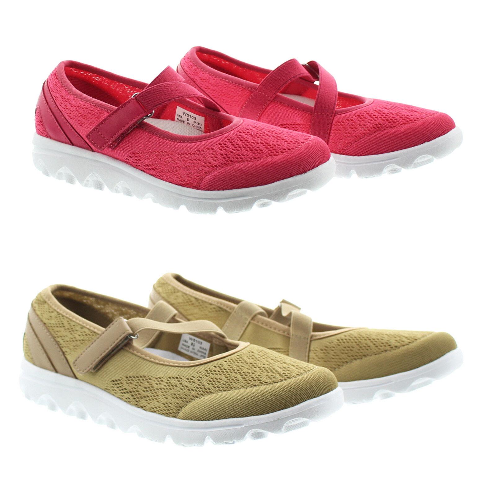 Propet W5103 Womens TravelActiv Mary Jane Fashion Sneaker Walker shoes