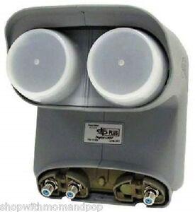 Dish-Network-Bell-ExpressVU-DishPro-Pro-Plus-DPP-TWIN-LNB-LNBF-With-SEPARATOR