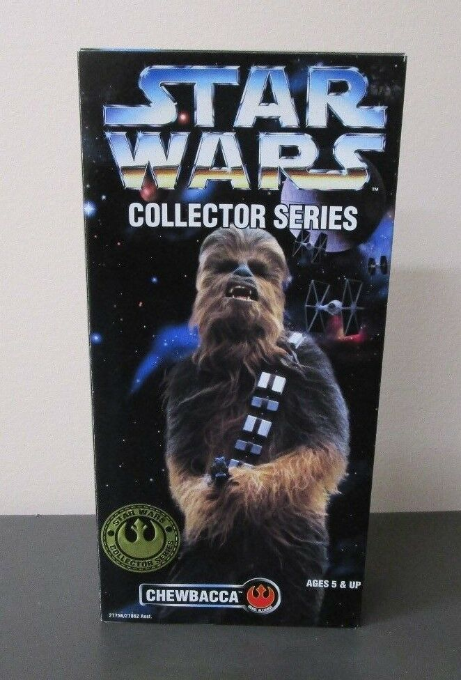 Chewbacca 1996 STAR WARS Collector Series 12  1 6 Scale MIB