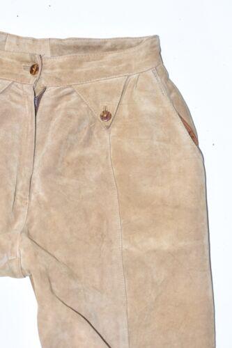 marron W30 W30 Vintage Women's Biker Size Leather femme Biker véritable Pants Trousers Brown tapered pour Pantalon femmes taille vintage en Tapered Real cuir UnX4xxPBq