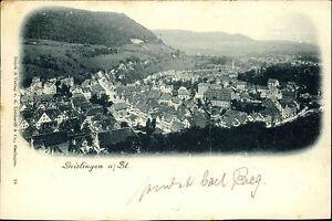 Geislingen Steige um 1900/10 Gesamtansicht AK Verlag Liebhardt & Co. Stuttgart