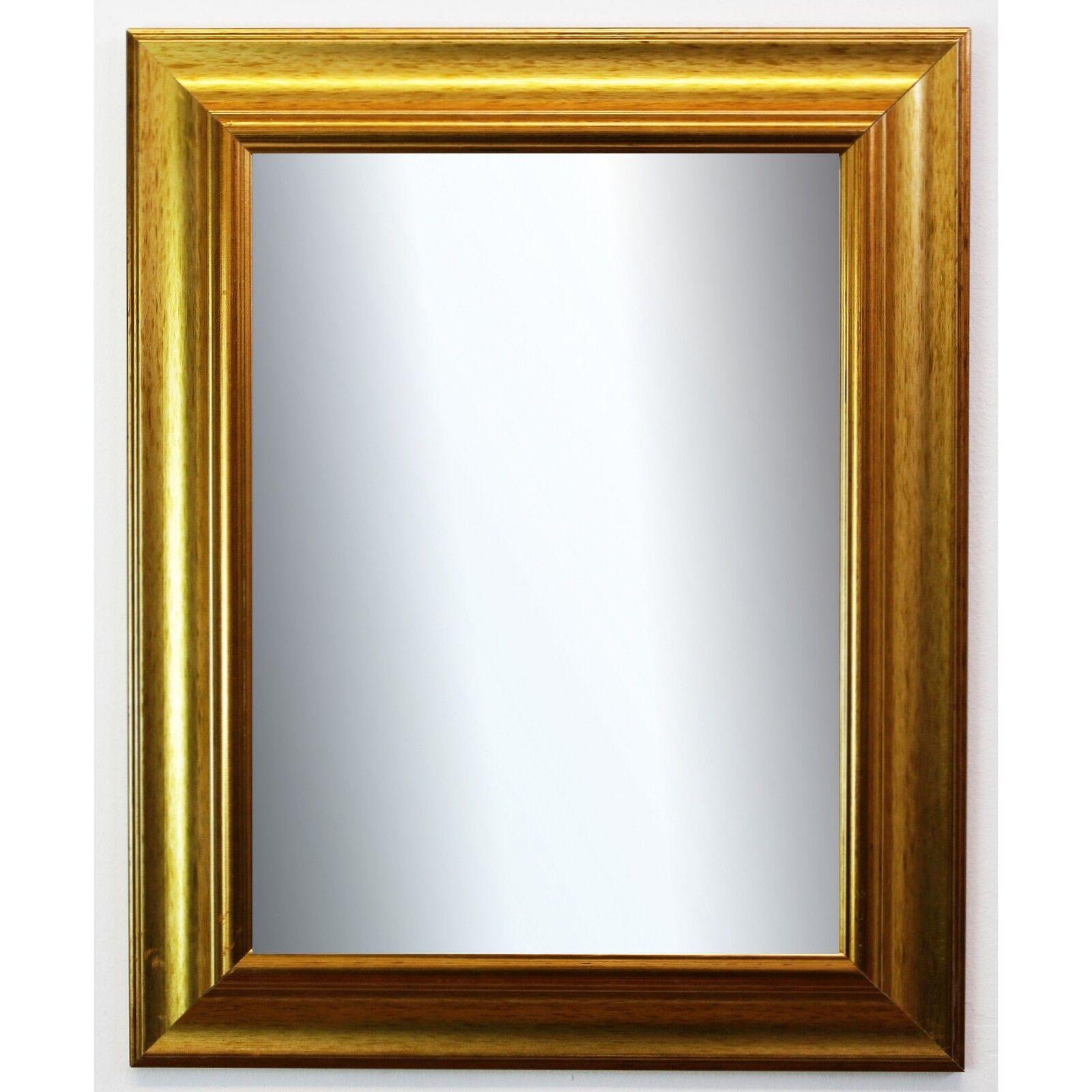 Badspiegel Gold Acta Antik 6,7 - NEU alle Größen