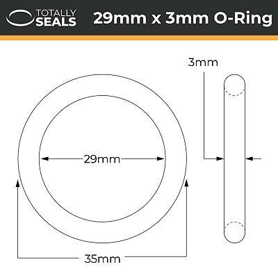 O Ring Metric Nitrile 45mm Inside Diameter x 3mm Section