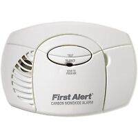 First Alert Co400 Battery Powered Carbon Monoxide Alarm, New, Free Shipping