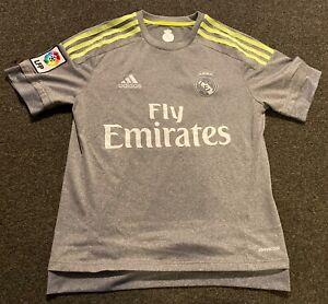ADIDAS Youth Soccer Jersey Boy's Kit M Medium Real Madrid Neon ...