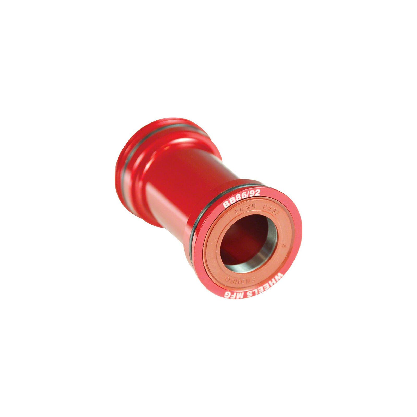 Wheels Manufacturing BB86 92 ACB Soporte Inferior Rojo  Sram GXP  directo de fábrica