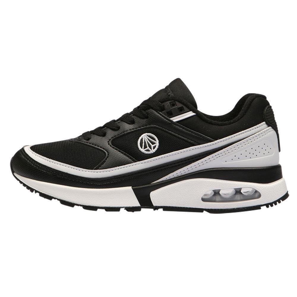 PaperPlanes Athletic Chaussures Air Running Suede Sneakers hommes DM PP1421 BKWT