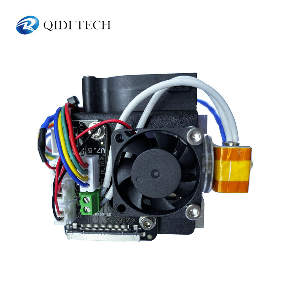 A Whole Set Extruder( With An Extruder Cable) For QIDI TECH X-Maker 3D Printer