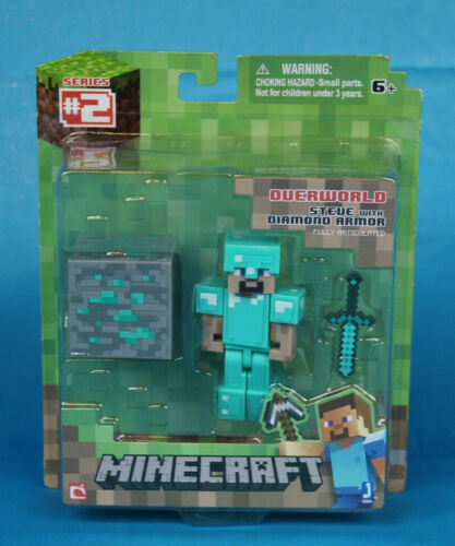 Minecraft JAZWARES Survival Pack or Mob Pack *Your Choice* BNIB Animal