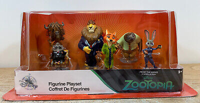 Zootopia Disney 6 pcs Figurine Playset