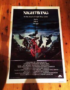 Nightwing-1979-U-S-Original-One-Sheet-Theatre-Poster-Excellent-Conditio